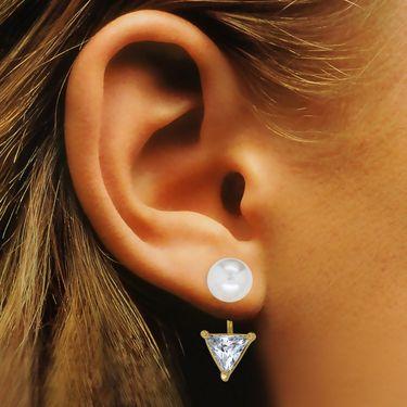 Spargz Alloy Metal Earring_Aier455