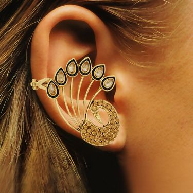 Spargz Alloy Metal Earring_Aier469