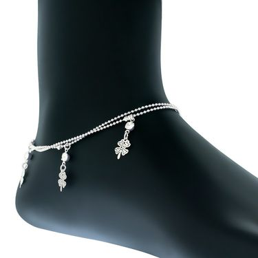 Spargz Alloy Metal Anklet_Aiank007