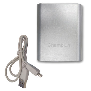 Champion Mcharge 4C 10400 mAh Power Bank with Samsung cells_Silver