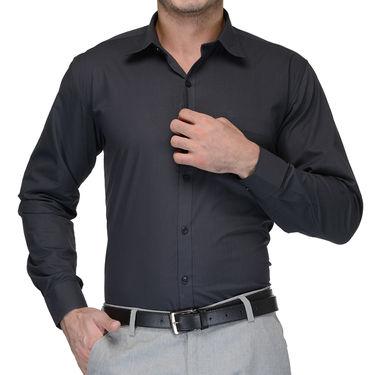 Being Fab Cotton Formal Shirt_Bfs04 - Dark Grey