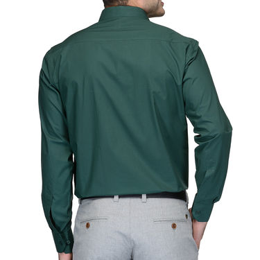 Being Fab Cotton Formal Shirt_Bfs05 - Green
