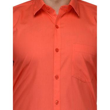 Being Fab Cotton Formal Shirt_Bfs25 - Orange