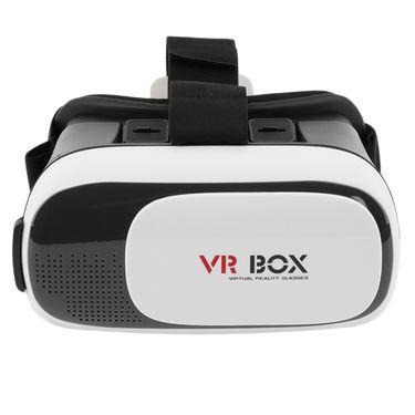 Vizio VZ-VR Box Video 3D Glasses with Cushion -Premium Quality (White)