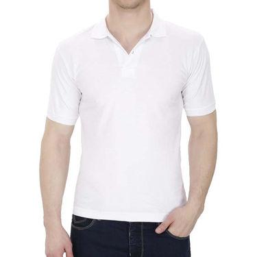 Pack of 3 Oh Fish Plain Polo Neck Tshirts_P3redwhtblu