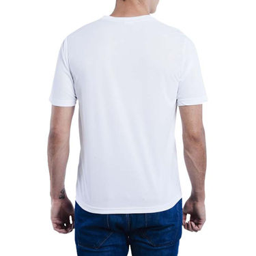 Pack of 2 Oh Fish Plain Round Neck Tshirts_Df2bluwht - Blue & White