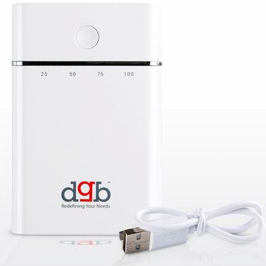 DGB Maven Duos PB-8000 Portable Power Bank 7800 mAh - White