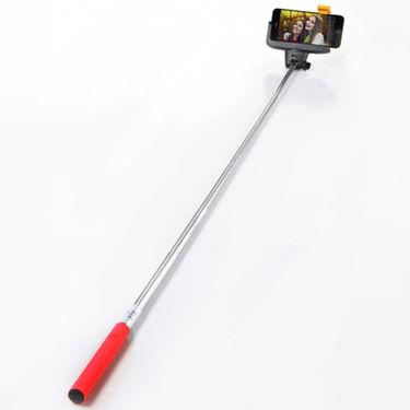 DGB i-Click Bluetooth Selfie Stick - Red