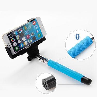 DGB i-Click Bluetooth Selfie Stick - Blue