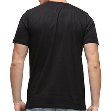 Effit Half Sleeves Round Neck Tshirt_Etscrn001 - Black