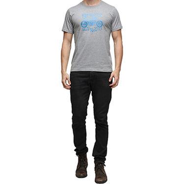 Effit Half Sleeves Round Neck Tshirt_Etscrn006 - Grey