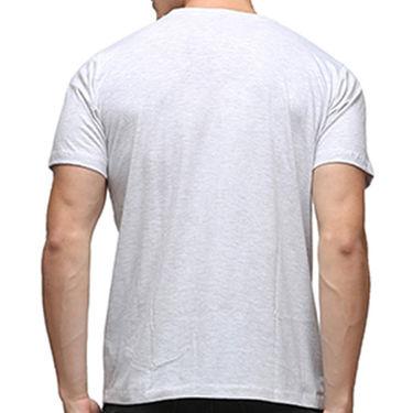 Effit Half Sleeves Round Neck Tshirt_Etscrnl007 - Light Grey