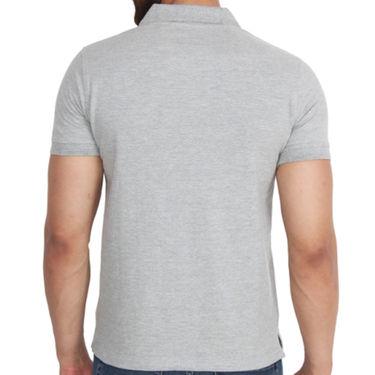 Branded Cotton Casual Tshirt_Arrow02 - Grey