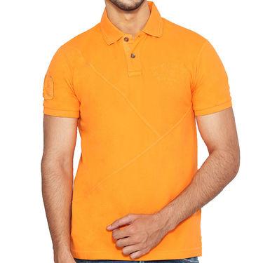 Branded Cotton Casual Tshirt_Gnt01 - Orange
