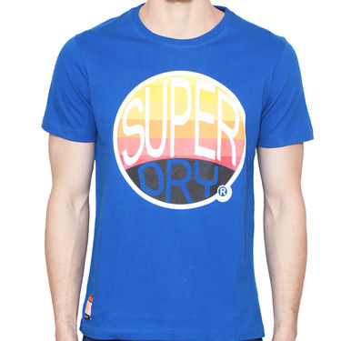 Branded Cotton Casual Tshirt_Sd01 - Blue