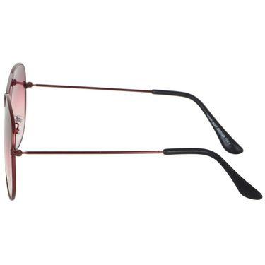 Alee Aviator Metal Unisex Sunglasses_Rs0206 - Pink