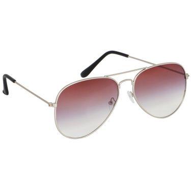 Alee Aviator Metal Unisex Sunglasses_Rs0208 - Purple