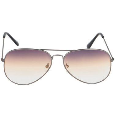 Alee Aviator Metal Unisex Sunglasses_Rs0219 - Brown