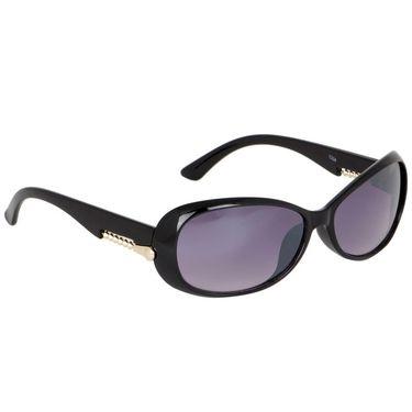 Alee Oval Plastic Women Sunglasses_Rs0220 - Purple