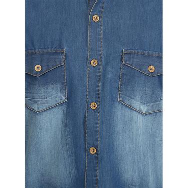 Stylox Cotton Shirt_Mbdnm220s - Medium Blue