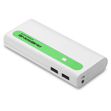 Ambrane P-1310 (13000mAh) Power Bank-(White & Green)