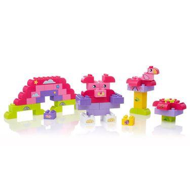 Mega Bloks Junior Builders Building Imagination - Pink