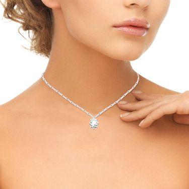 Ag Real Diamond Renuka Pendant_AGSP0195