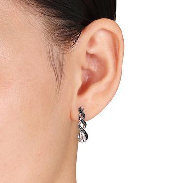 Kiara Swarovski Signity Sterling Silver Pratiksha Earring_KIE0469