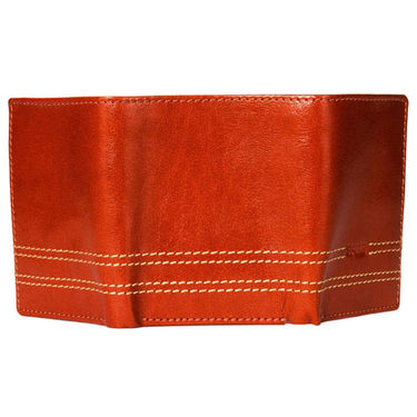 Spire Stylish Leather Wallet For Men_Smw128tn - Brown