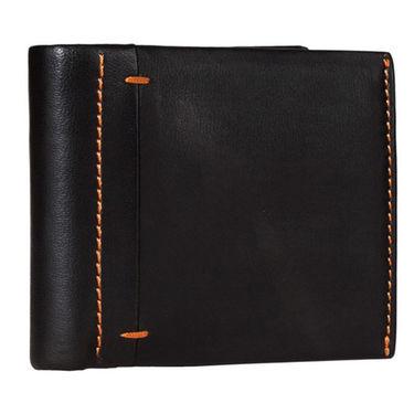 Spire Stylish Leather Wallet For Men_Smw141 - Black