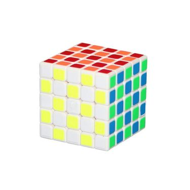 Ultra Smooth Twist Neon Rubik Cube 5x5x5 Magic Puzzle