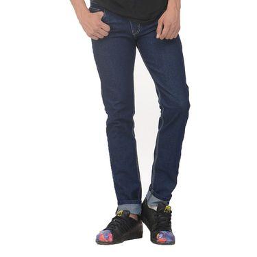 Plain Slim Fit Denim Jeans_Jnvgn3 - Denim Blue