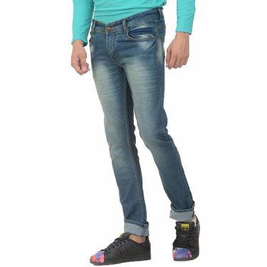 Forest Faded Slim Fit Denim Jeans_Jnfrt10 - Blue