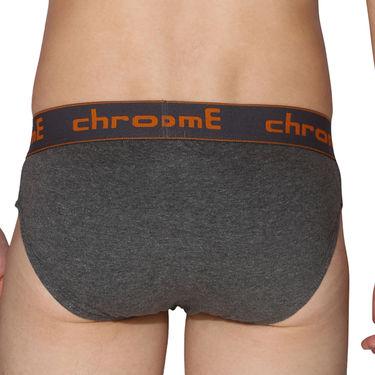 Pack of 3 Chromozome Regular Fit Briefs For Men_10020 - Multicolor