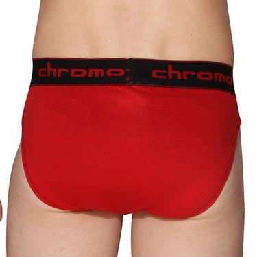 Pack of 3 Chromozome Regular Fit Briefs For Men_10065 - Multicolor