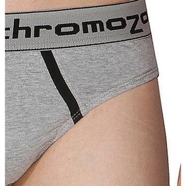 Pack of 3 Chromozome Regular Fit Briefs For Men_10080 - Multicolor
