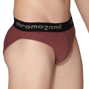 Pack of 3 Chromozome Regular Fit Briefs For Men_10144 - Multicolor