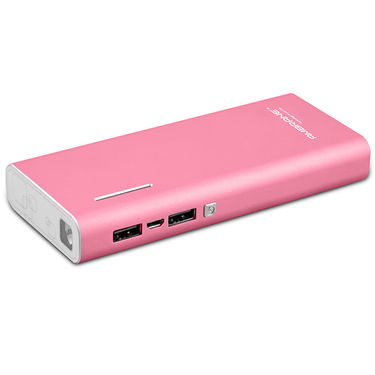 Ambrane P-1313 (13000 mAh) Power Bank - Pink