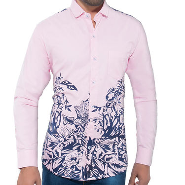Pack of 2 Slim Fit Cotton Shirts For Men_A50101143 - Multicolor