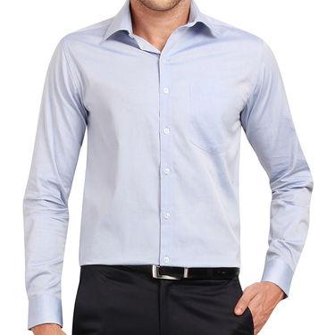 Copperline 100% Cotton Shirt For Men_CPL1207 - Blue