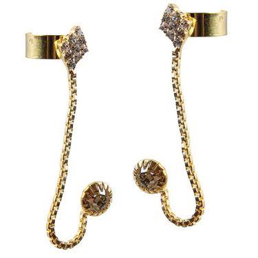 Kriaa Austrian Stone Ear Cuff_1303302