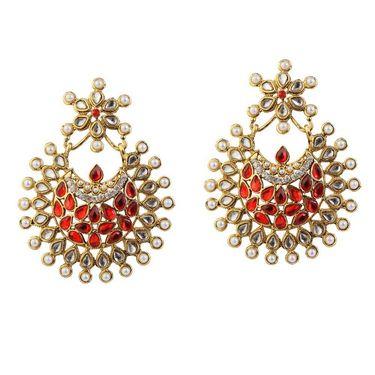 Kriaa Kundan Pearl Earrings _1303762