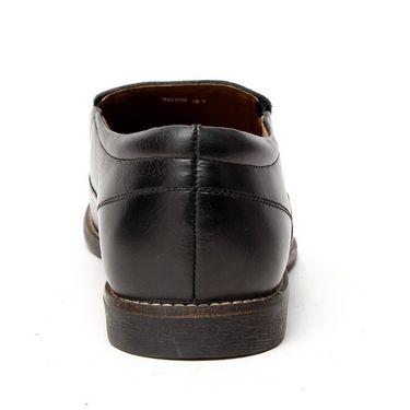 Delize Leather Formal Shoes 1895-Black