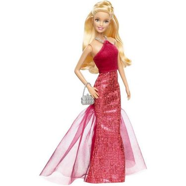 Mattel Barbie Signature Style - Long Gown Doll Red