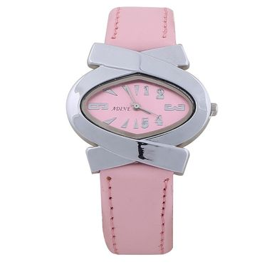 Adine Round Dial Analog Wrist Watch For Women_39pp013 - Pink