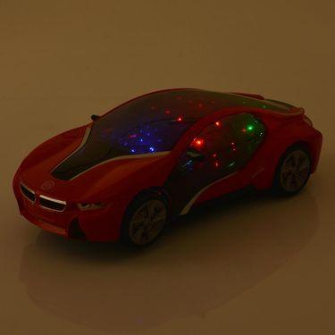 Kids Musical 3D LED Flashing Multi-directional Car Toy