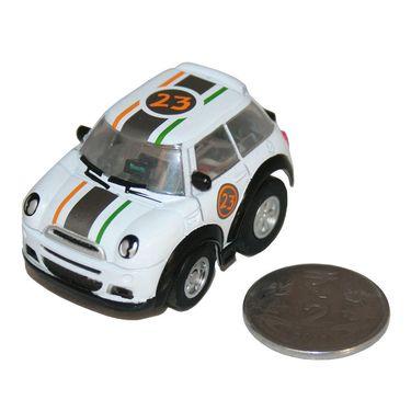 Adraxx Stunt Parkour Fly Mini RC Car Toy - White