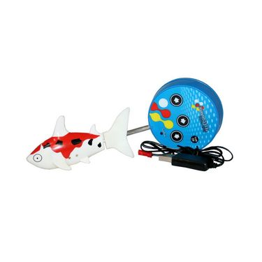 AdraxX RC Mini Toy Shark - Red and White