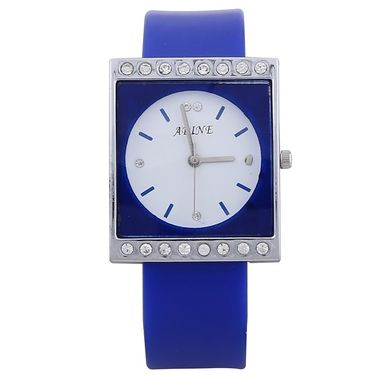 Adine Square Dial Analog Wrist Watch For Women_45bw022 - White