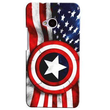 Snooky Digital Print Hard Back Case Cover For Htc One M7  Td12064